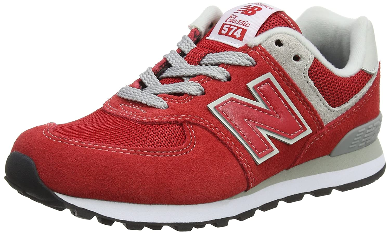 new style 83372 f863e Amazon.com   New Balance Kids' 574v1 Essentials Sneaker, 1 ...