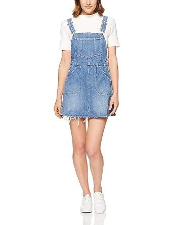 8b4a57645fc2 Wrangler Women's Denim Pinafore: Amazon.com.au: Fashion