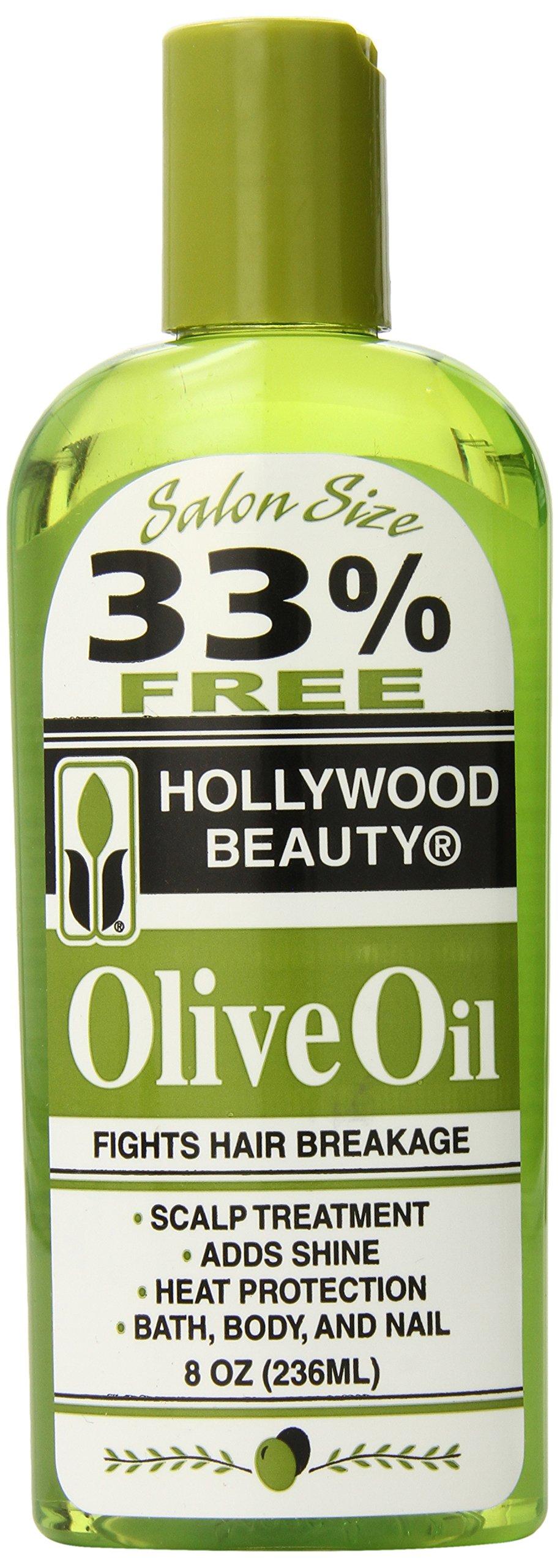 Hollywood Beauty Olive Oil, 8 Ounce