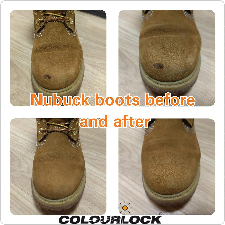 Ante Colorlock y nobuk goma de borrar para eliminar las manchas en ante, nobuck, piel otros tipos de ropa y zapatos: Amazon.es: Hogar