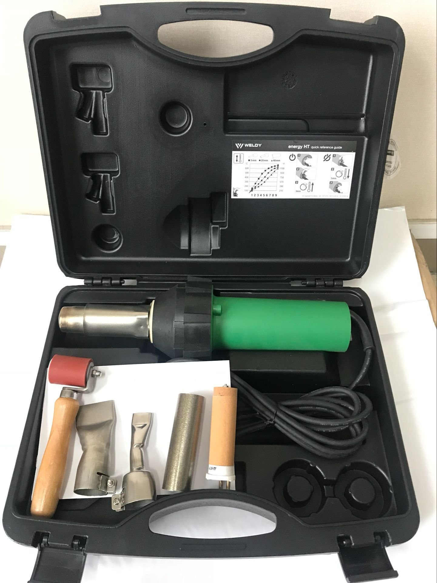 110V/220V 1600W CE Handheld Hot Air Plastic Welder Gun PVC welding Hot Air Welding Torch