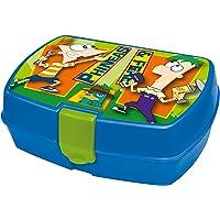 Disney Phineas & Ferb 18 x 15 x 8cm Funny Sandwich Box