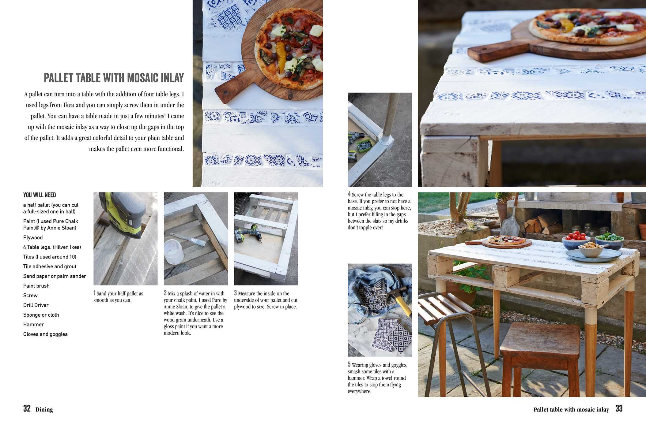 Pallet Wood Projects For Outdoor Spaces 35 Contemporary Projects For Garden Furniture Accessories Van Overbeek Hester 9781782497158 Amazon Com Books