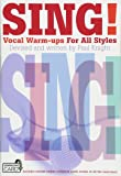 Sing Vocal Warm-Ups for All Styles Vce Book & Download Card