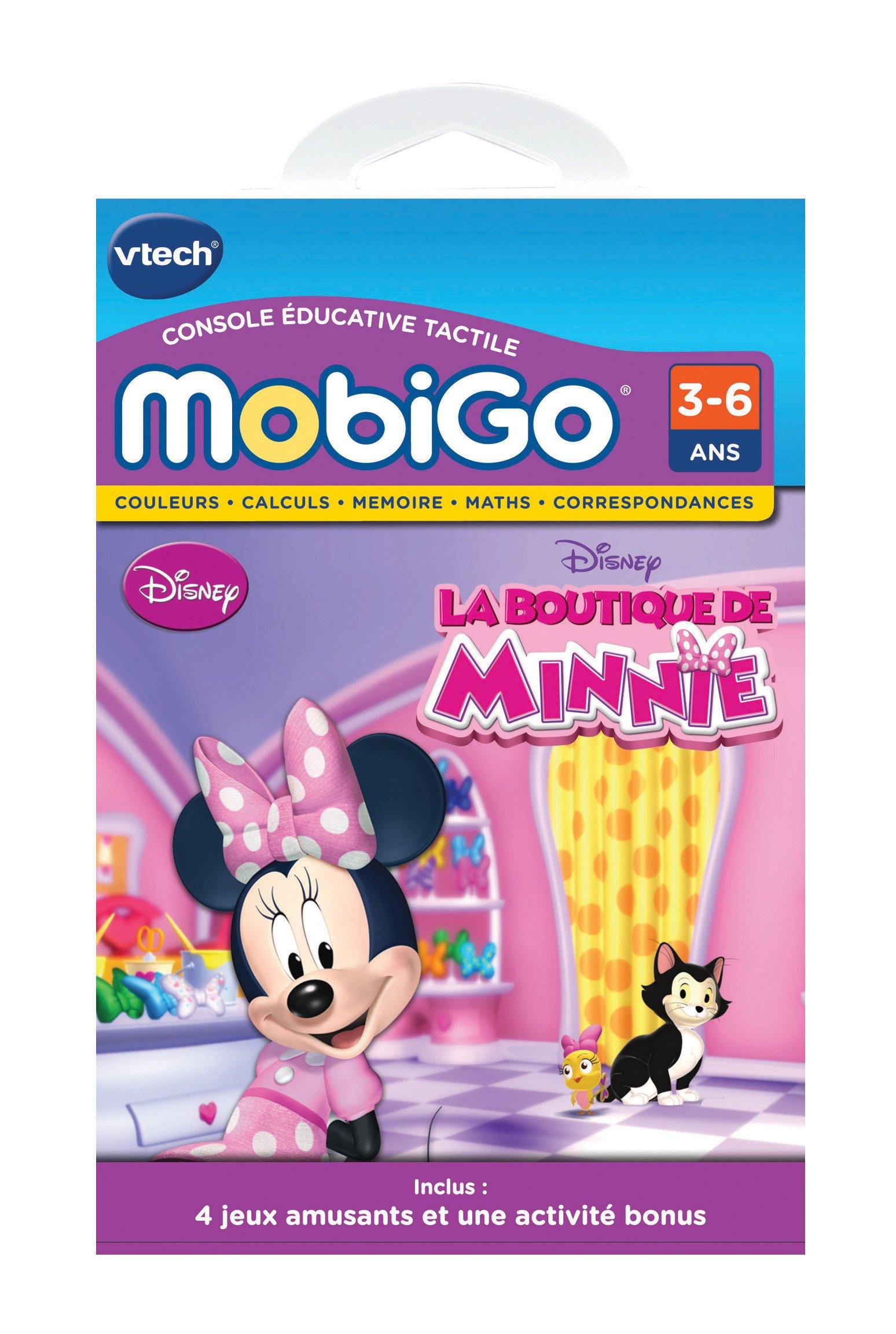 VTech - 252905 - Jeu Électronique - Jeu Mobigo - La Boutique de Minnie product image