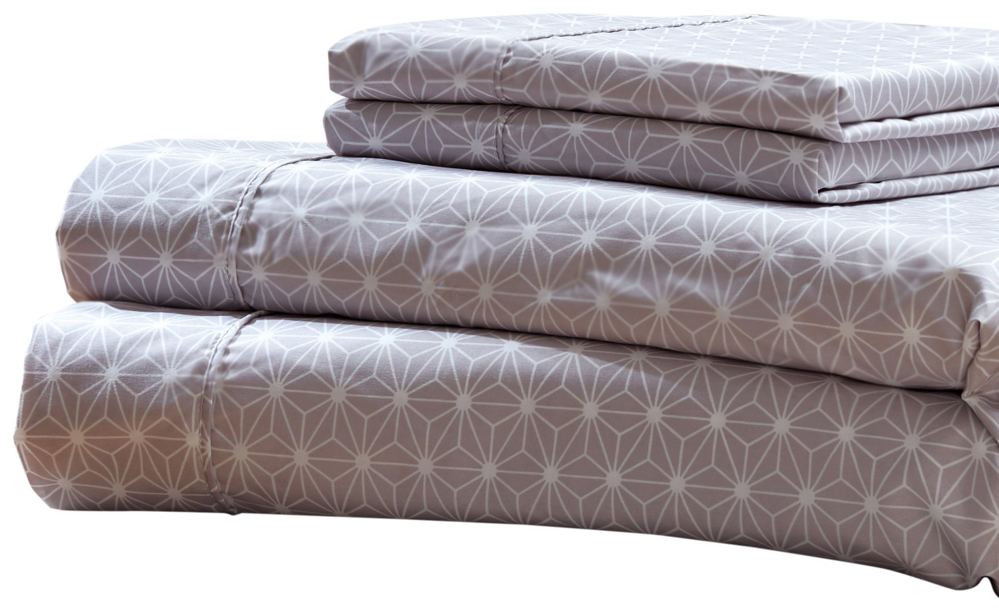 RT Designers Collection Solar Printed 3-Piece Sheet Set, Twin