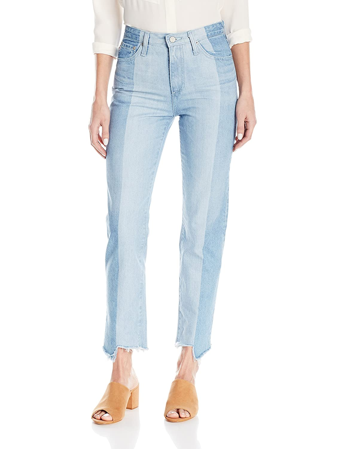 19 Years Splinter AG Adriano goldschmied Womens Phoebe Vintage High Waisted Tapered Leg Jean