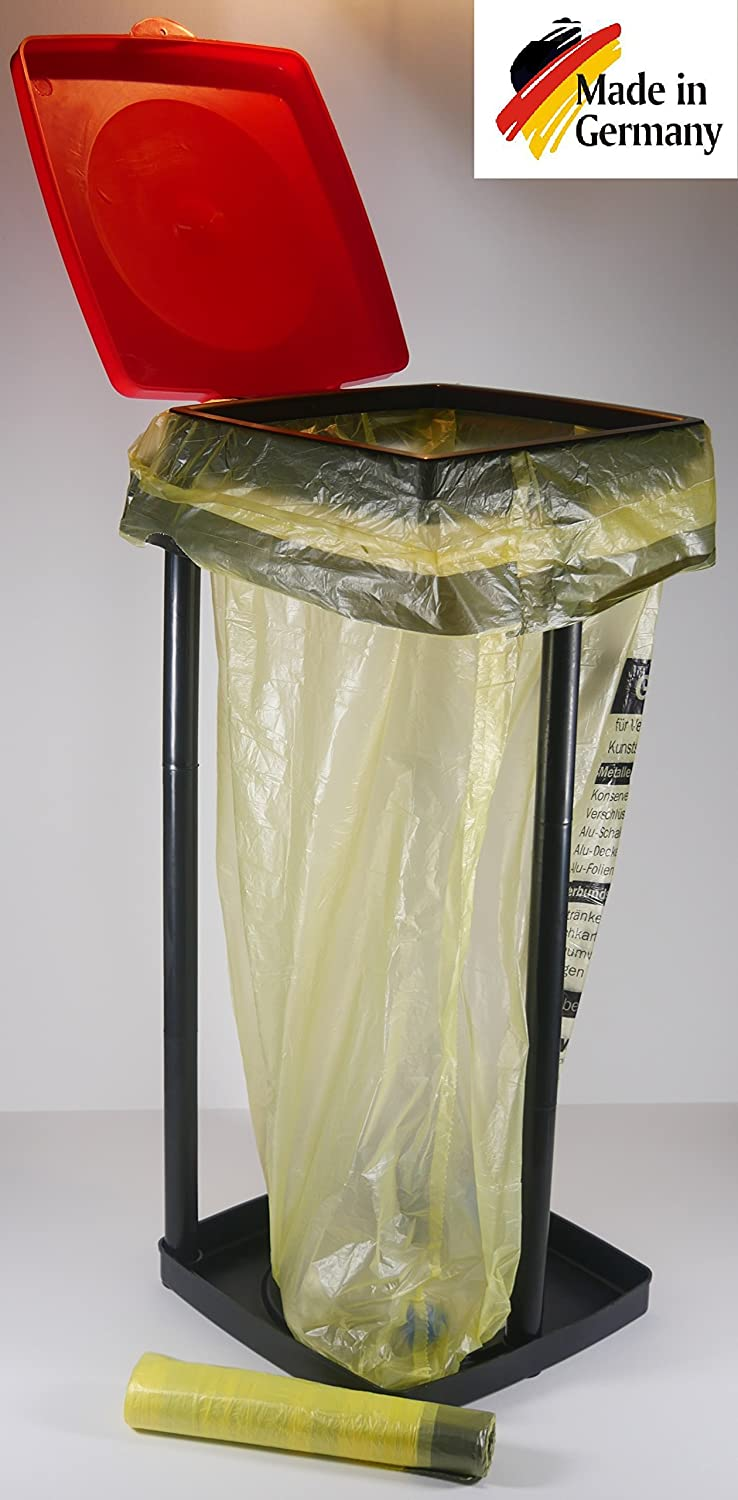 Bin Bag Stand for up to 90 Litres, Ideal For Yellow Sack HG Verlag
