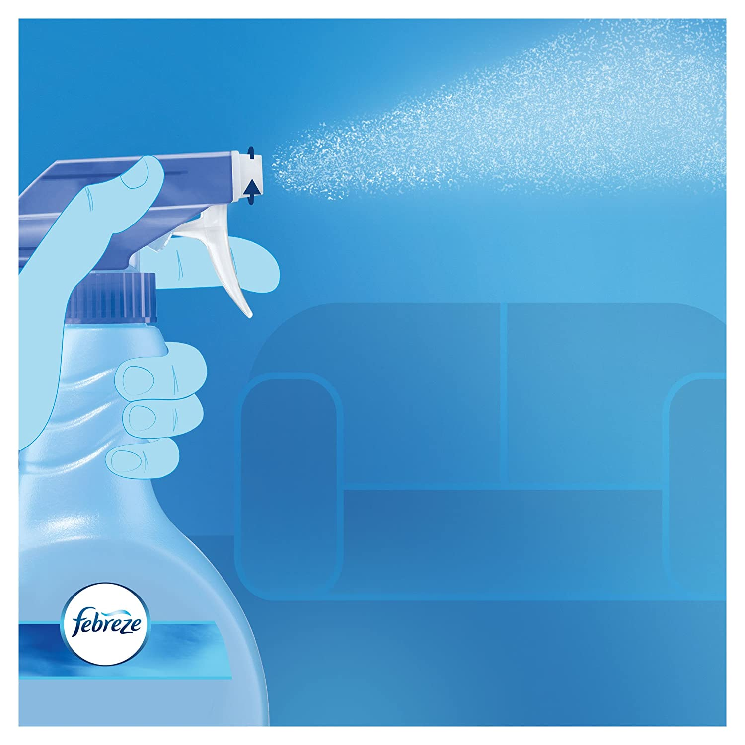 Febreze Deodorante per Tessuti Spray Classic 500 ml: Amazon.es: Amazon Pantry