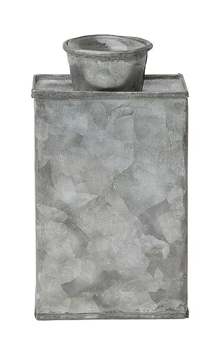 Amazon Decorative Tin Vase With Glass Insert Home Kitchen