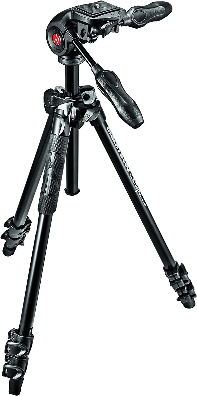 Manfrotto Mk290lta3 3wus Light Aluminum 3 Section Kamera