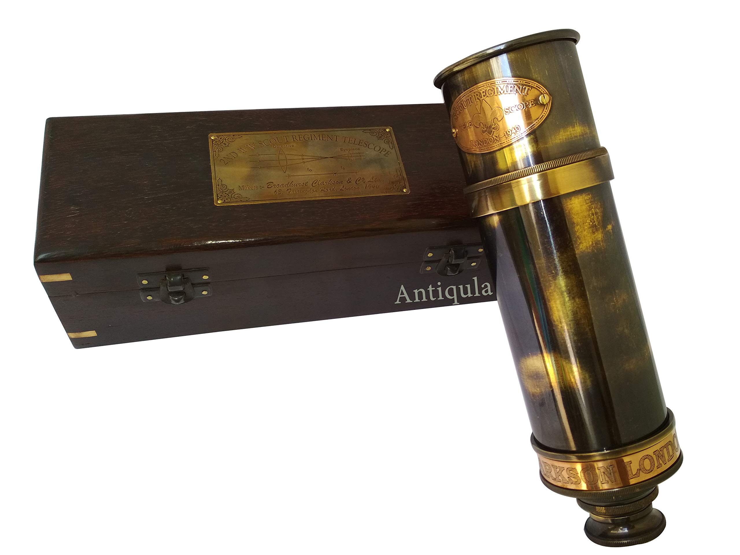 Other Maritime Antiques Maritime Nautical Antique Brass Dollond Spyglass Telescope Handmade Marine Scope