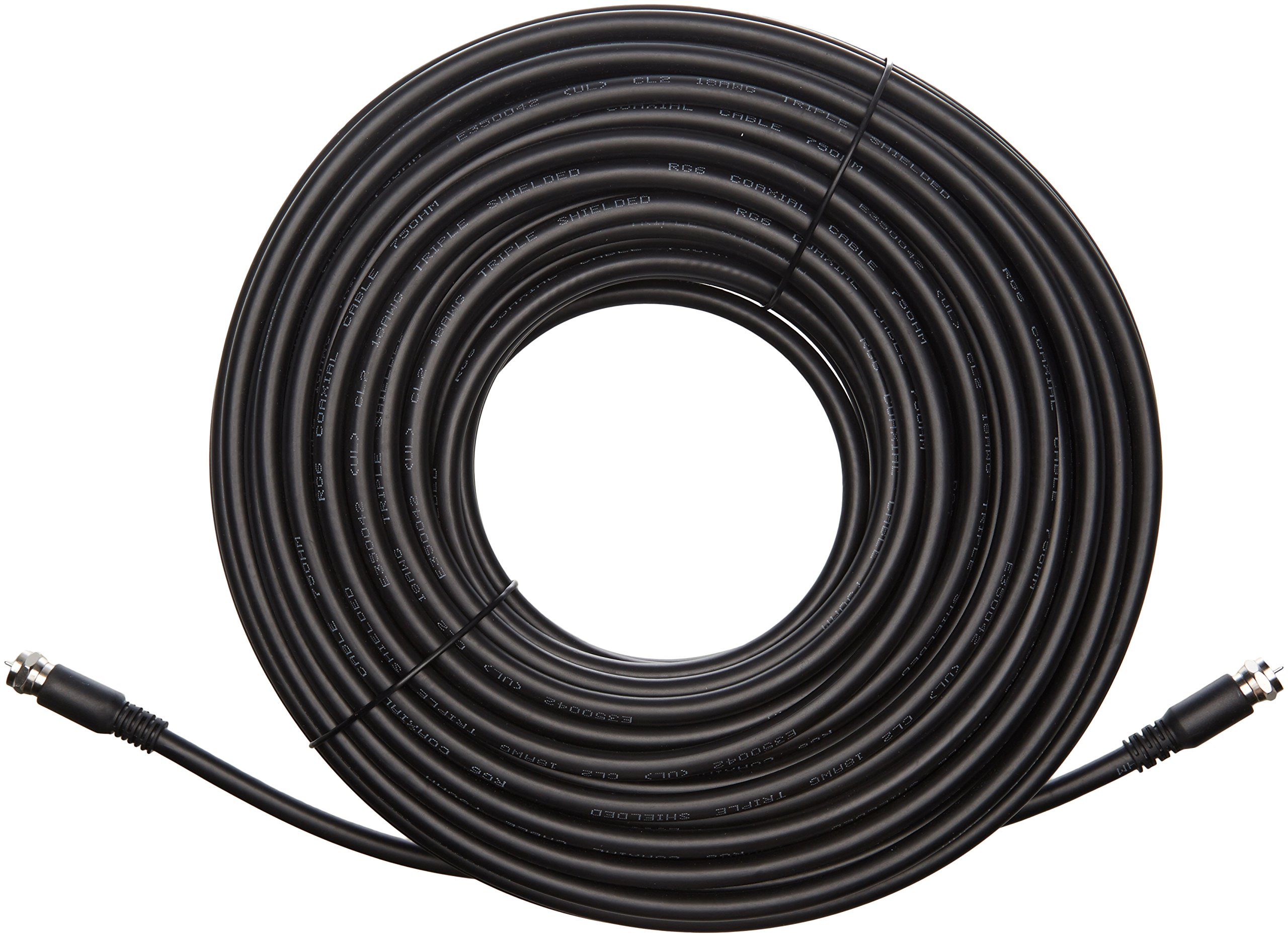 AmazonBasics CL2-Rated Coaxial TV Cable - 100 feet by AmazonBasics (Image #4)