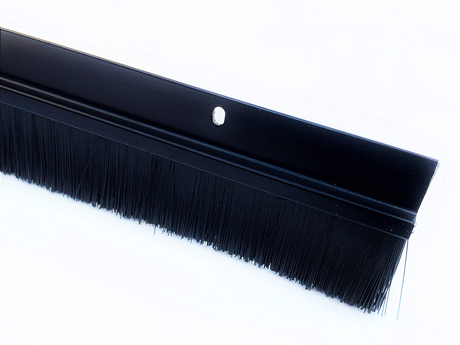 48 Long 4 FT 4 FT Black Brush Sweep for Gaps up to 1 1//2 Made in USA by Randall Manufacturing BS-220-BLK