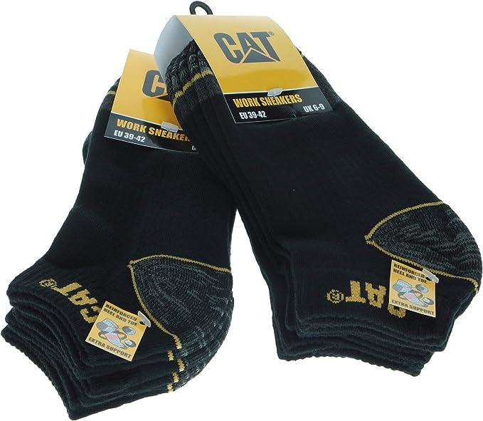 CAT Caterpillar 2 or 3 Pk Thermo Work Socks 6-11