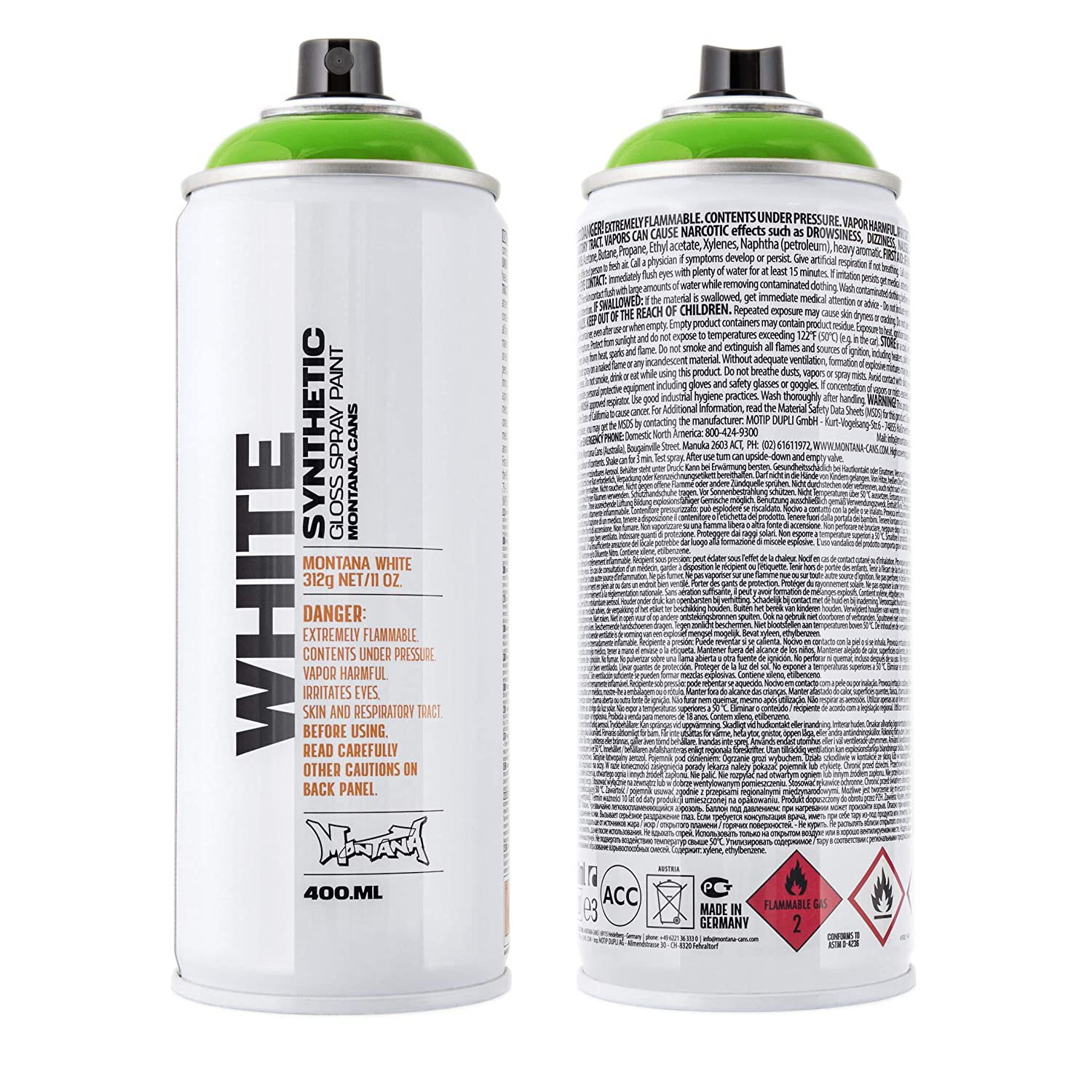 Amazon Com Montana Cans Mxw 6160 Montana White Spray Paint