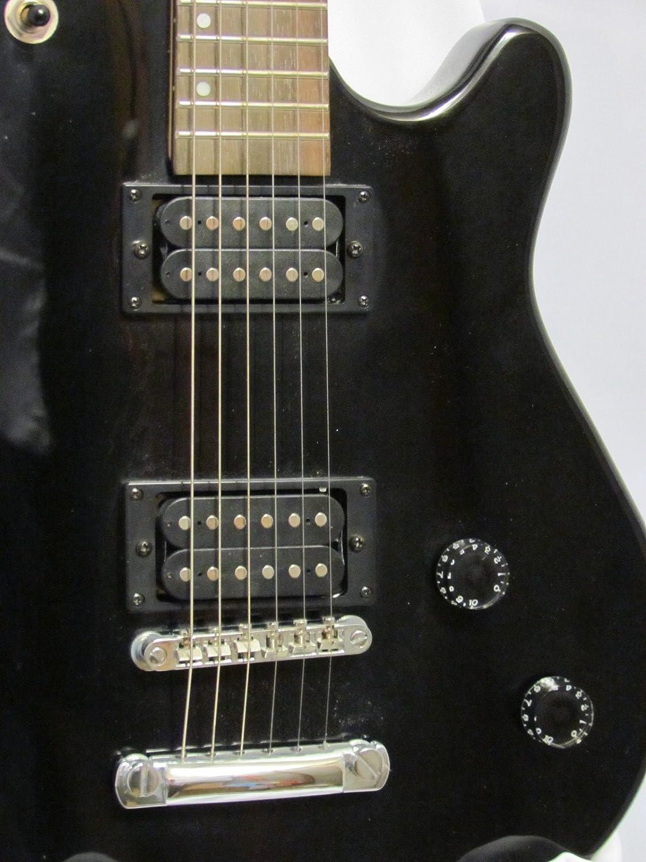 Washburn Maverick BT-2 negro guitarra eléctrica: Amazon.es: Instrumentos musicales