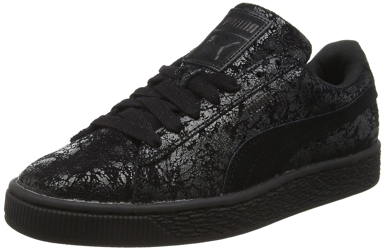 Puma Damen Suede Remaster Sneakers  40 EU|Schwarz (Puma Black 01puma Black 01)