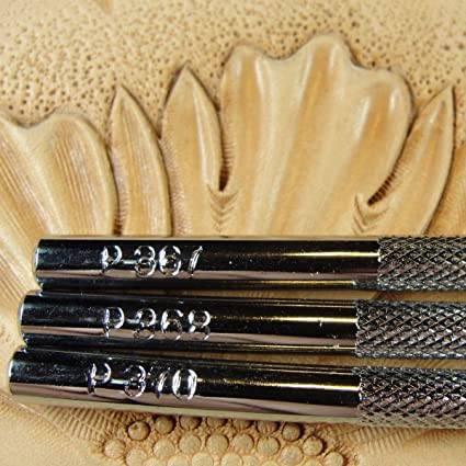 Camouflage Stamp Set 3 Leather Stamping Tools Steel Craft Japan