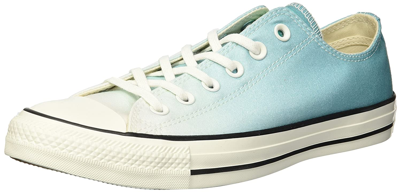 Converse Women's Chuck Taylor All Star Ombre Low Top Sneaker B078NHCKXL 8.5 B(M) US|Pure Teal/Egret/Egret