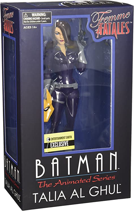 The Animated Series Talia Al Ghul Femme Fatales Statue Entertainment Batman