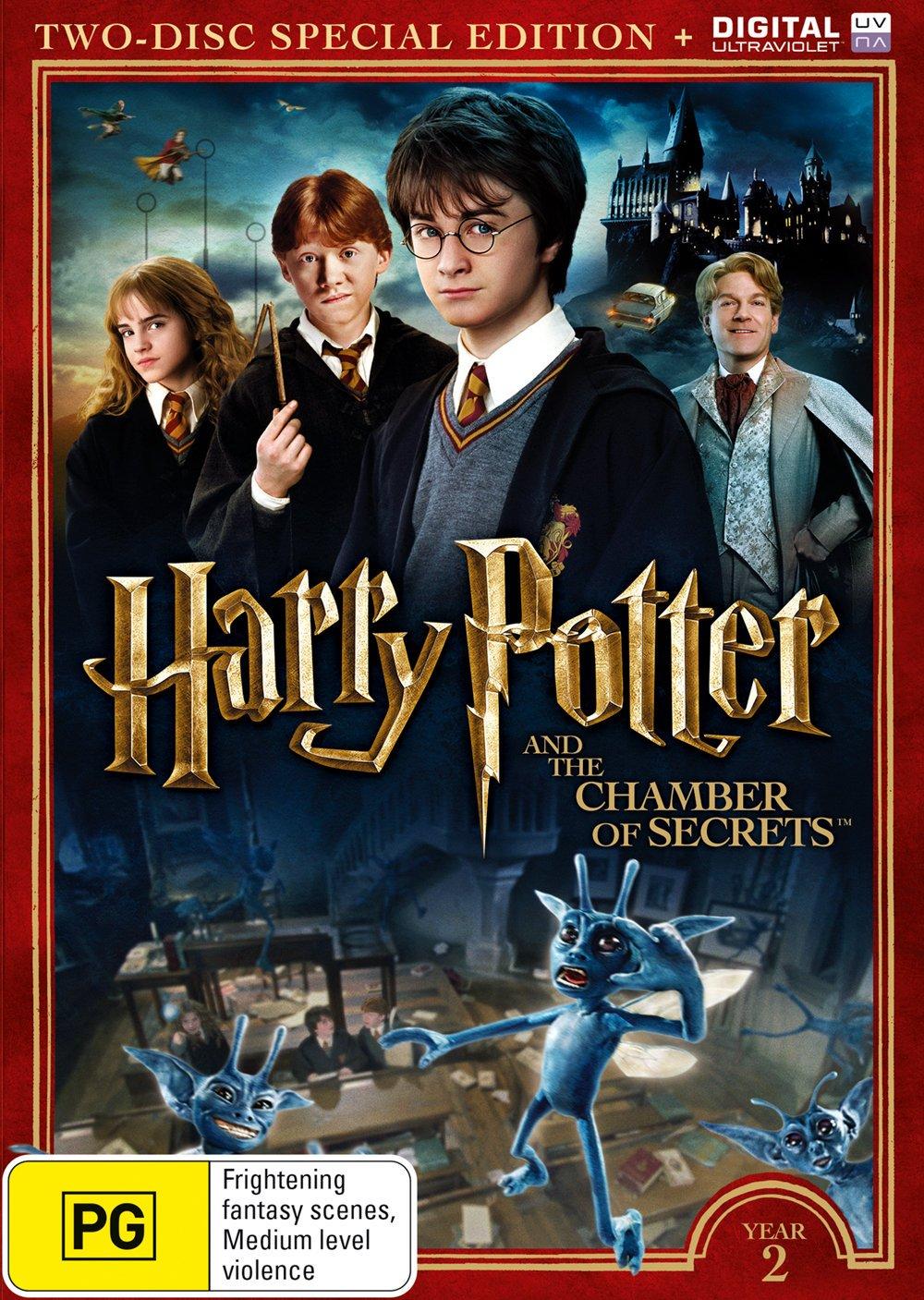 Amazon Com Harry Potter And Chamber Of Secrets Special Edition Non Usa Format Pal Region 4 Import Australia Daniel Radcliffe Rupert Grint Emma Watson Alan Rickman Chris Columbus Movies Tv