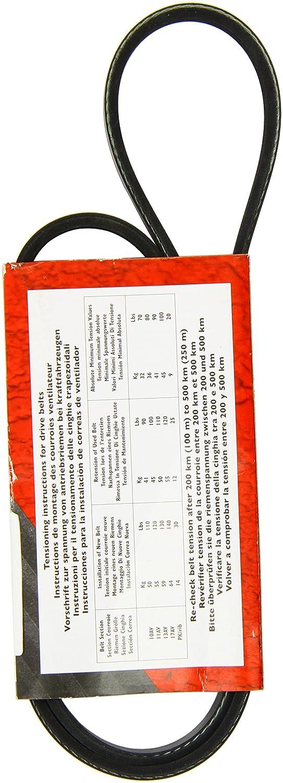 Goodyear 4PK1063 correa de distribución dentada en V: Amazon.es: Coche y moto