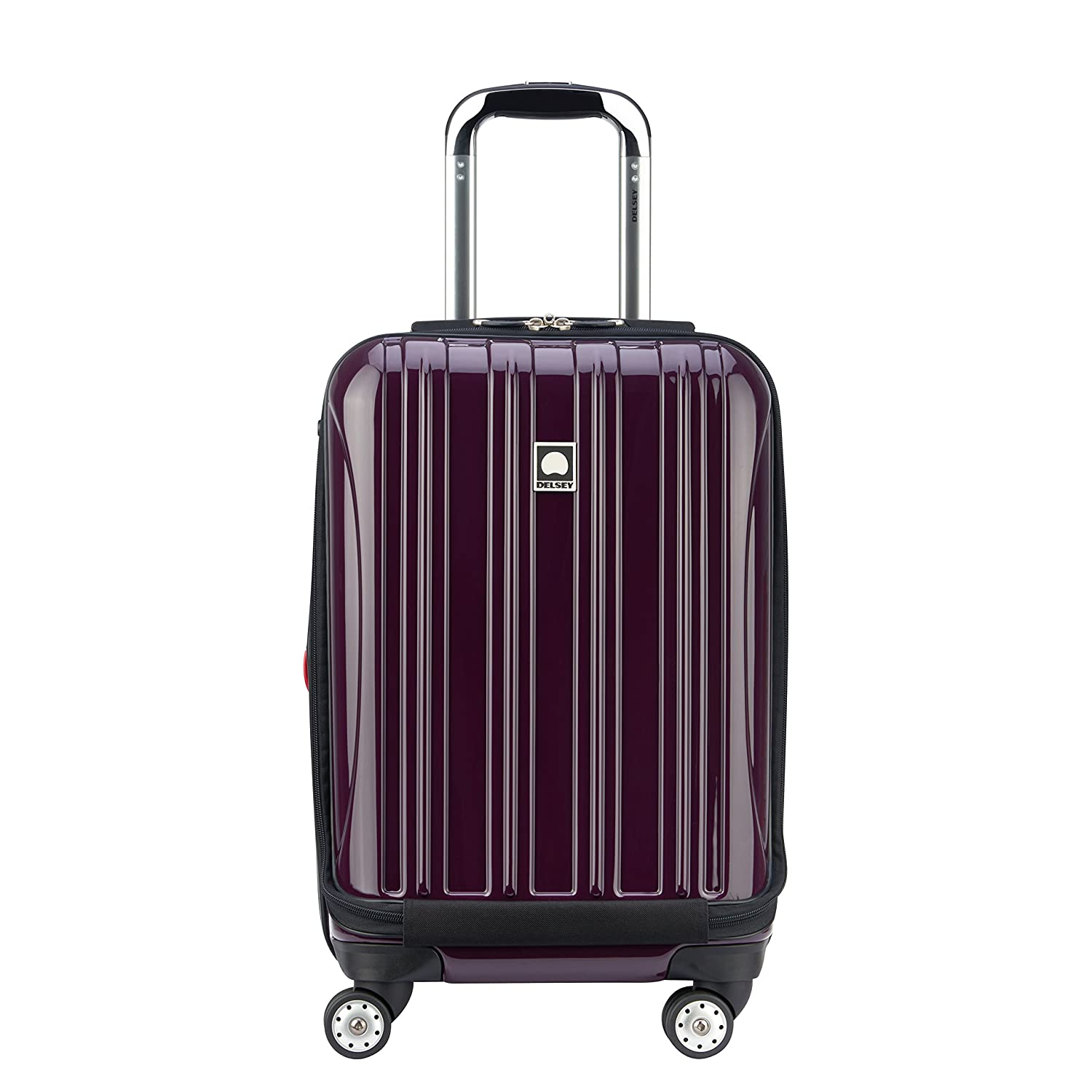 Delsey Luggage Helium Aero International Carry On Expandable Spinner Trolley, Cobalt Blue 07640BD