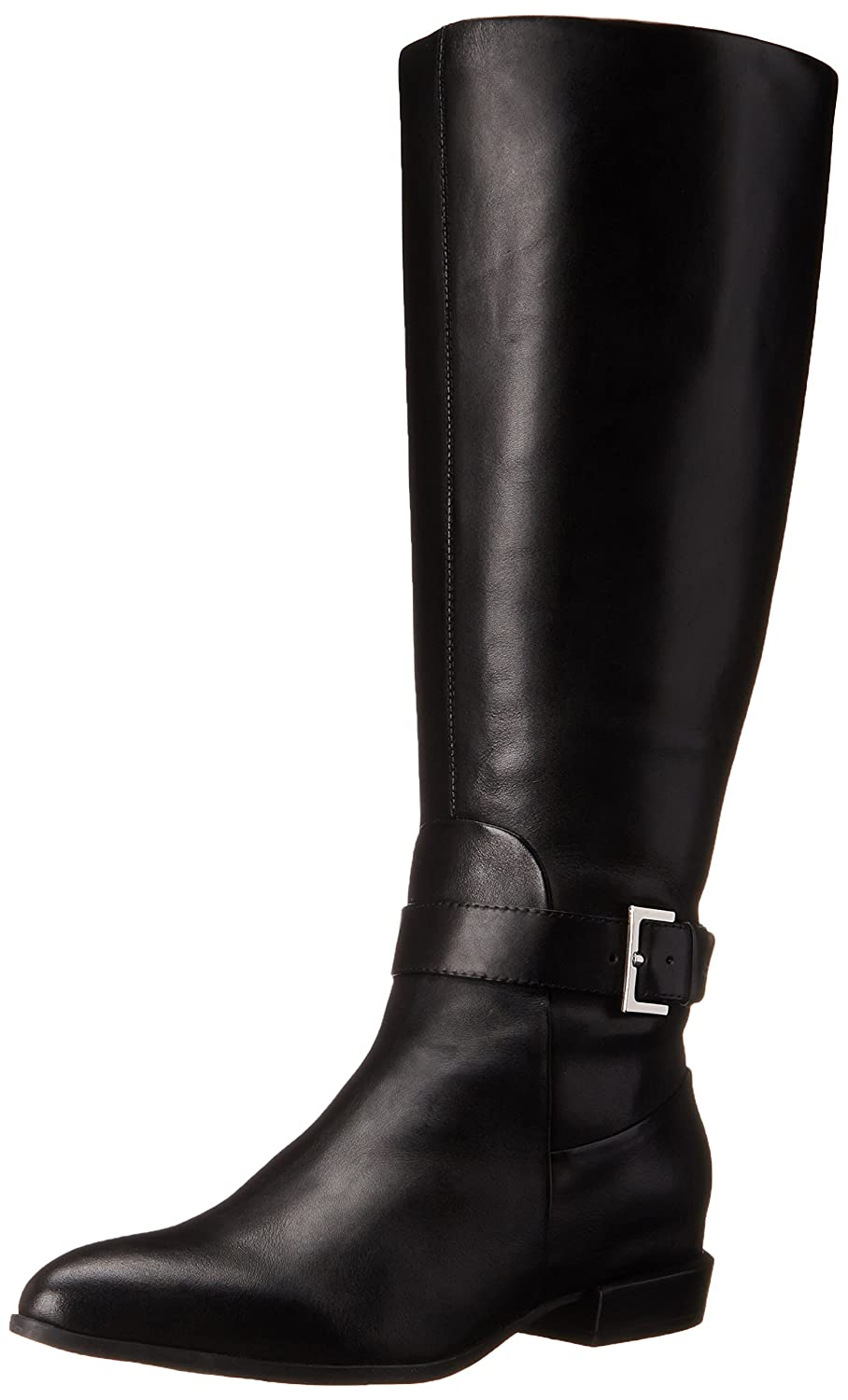 Amazon.com | Nine West Women's Diablo-Wide Calf Leather Knee-High ...