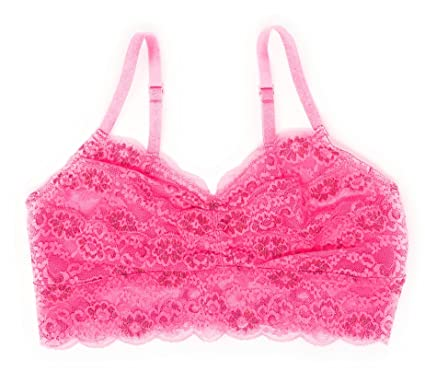 474a2bdd190e5a Victoria s Secret Pink Lace Bralette at Amazon Women s Clothing store