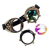 Steampunk Victorian Goggles Kaleidoscope Welding