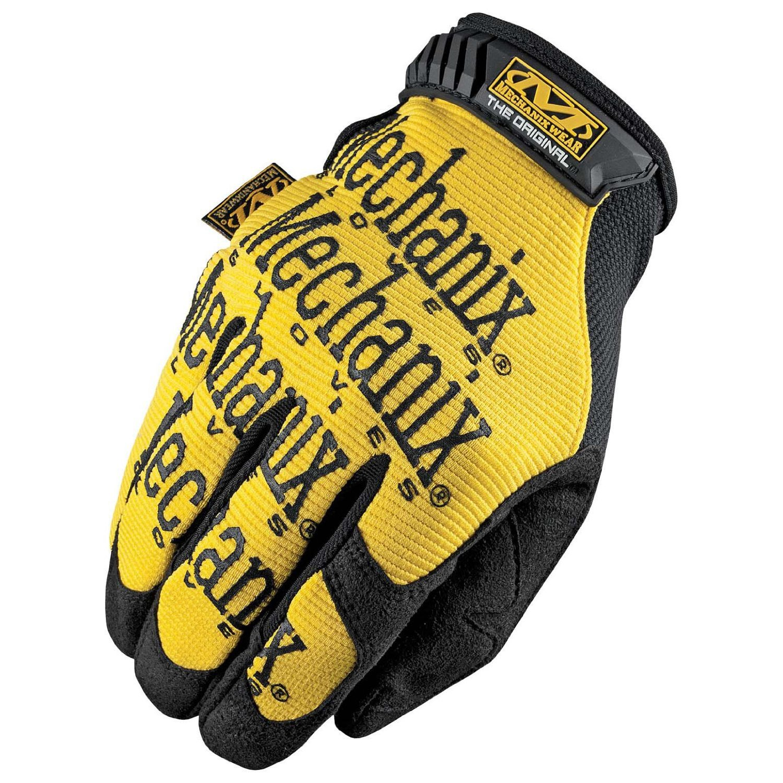 Mechanix Wear Unisex Adult Original Gloves Yellow Small