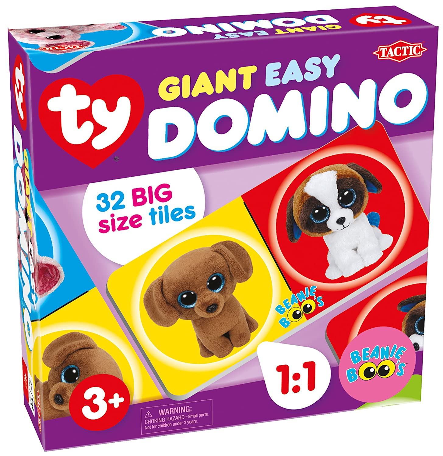 US Ty Giant Domino Game Tactic USA Inc 53998