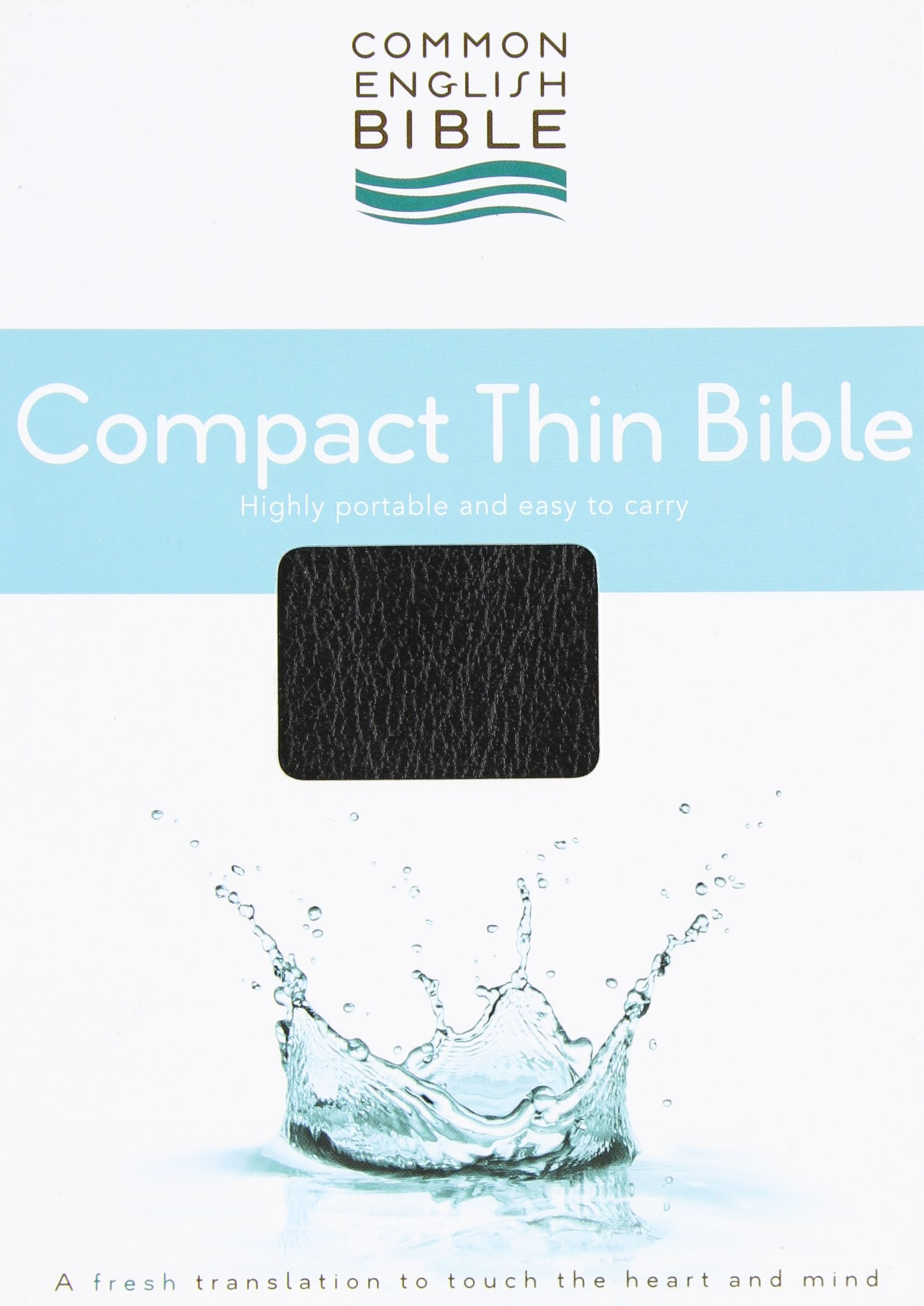 Download CEB Common English Compact Thin Bible Bonded EcoLeather Black ebook