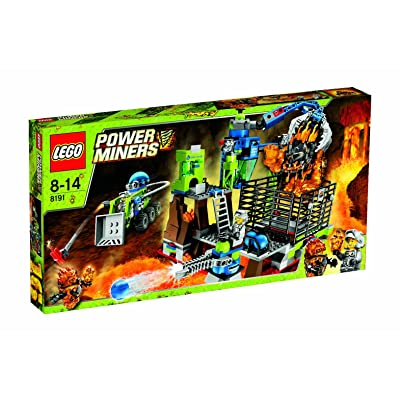 LEGO? Power Miners Lavatraz 8191: Toys & Games