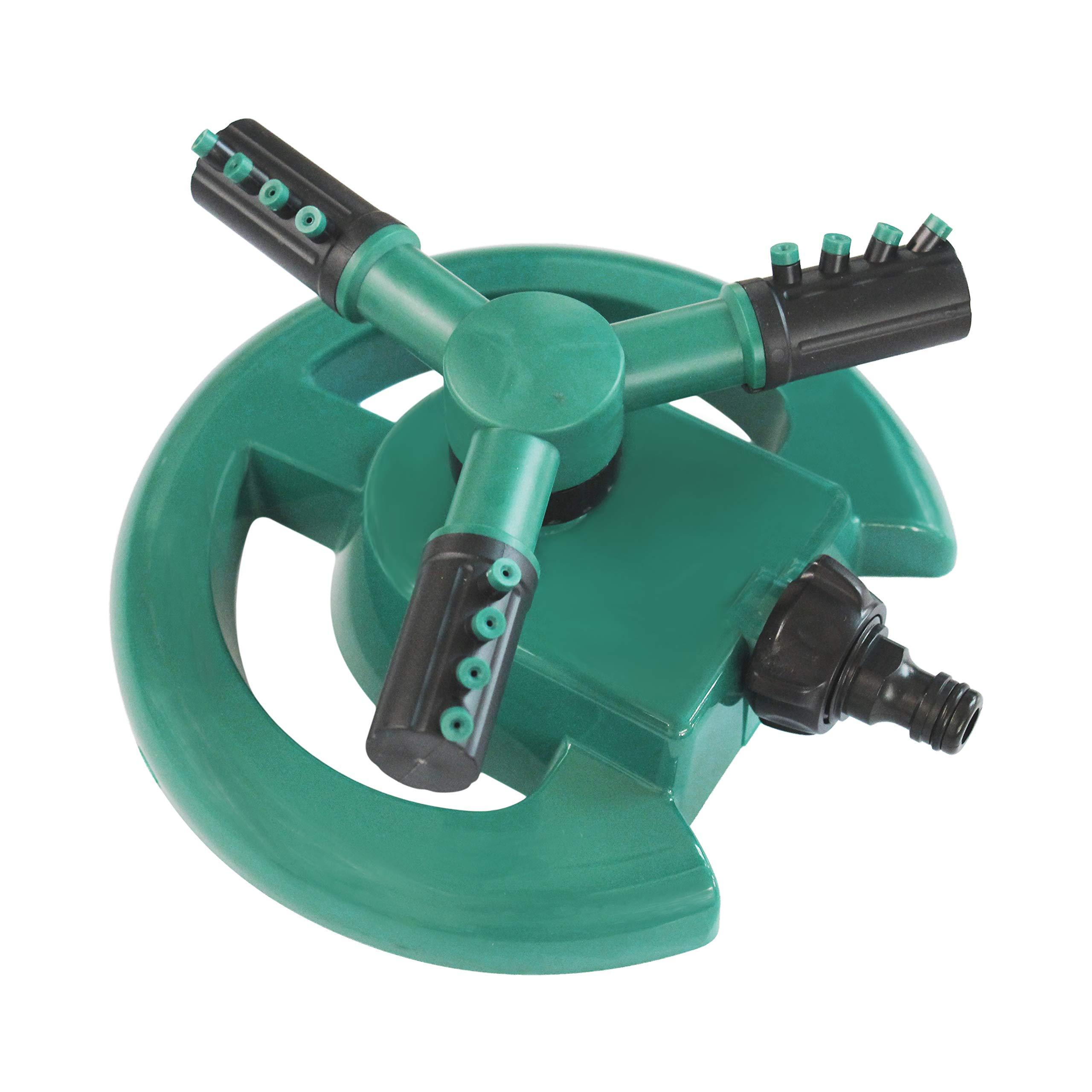 Arroseur pour pelouse avec système d'arrosoir rotatif 360° à 3 bras product image