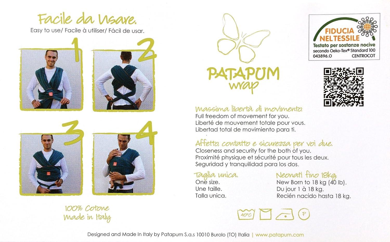 Patapum Baby Wrap (Marsala)