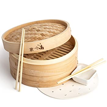 Prime Home Cute Bamboo Steamer