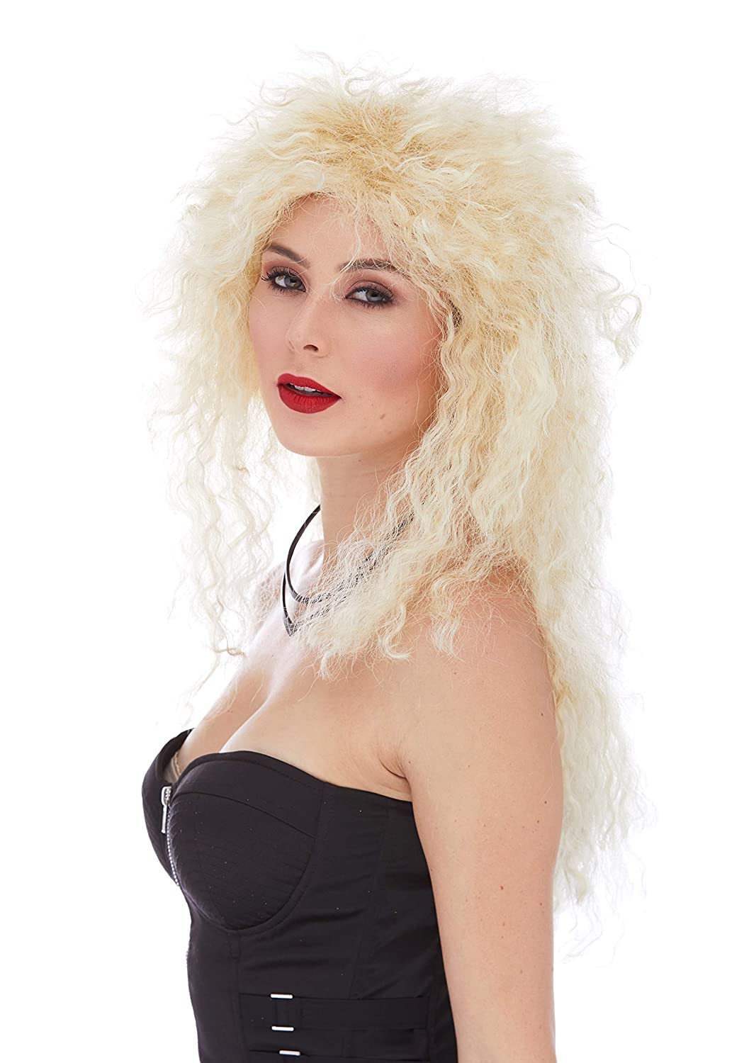 Amazon.com: Heavy Metal Color 22 Blonde - Sepia Wigs 20 ...