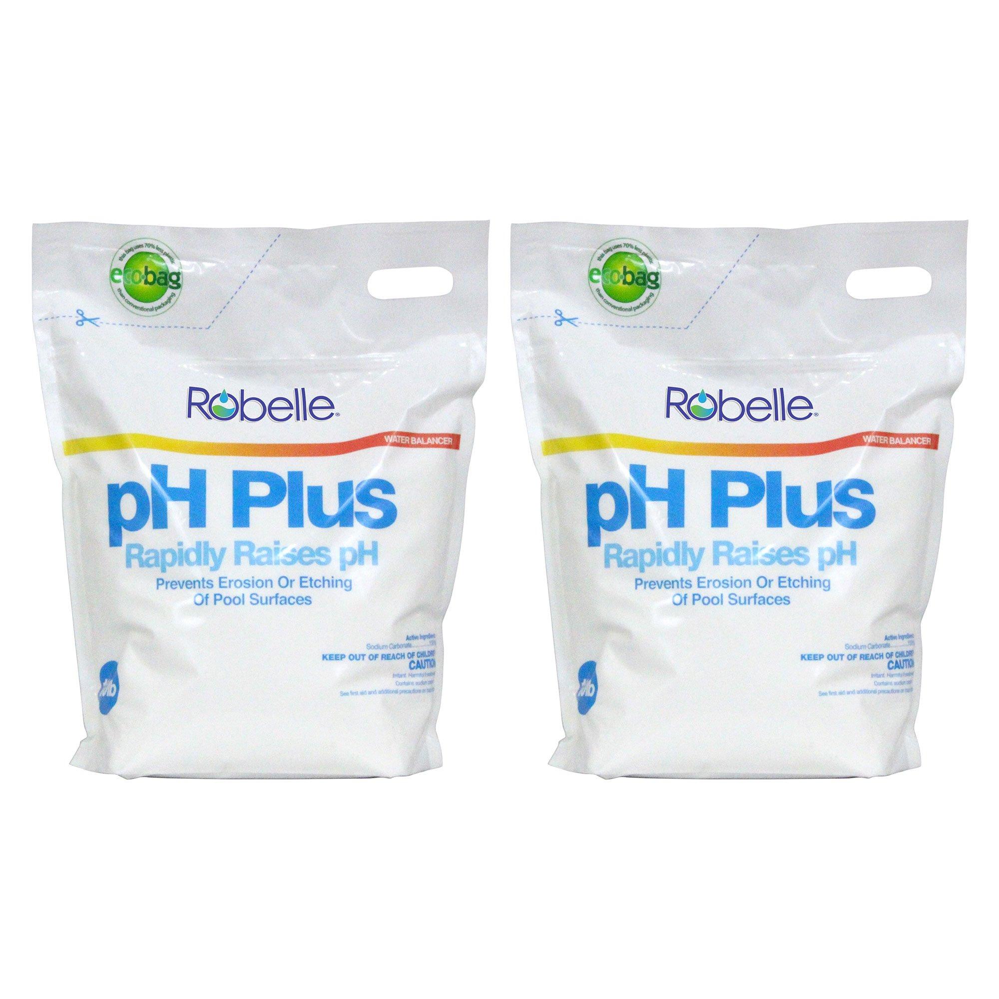 Robelle 2210B-02 pH Increaser for Swimming Pools, 20 lb by Robelle