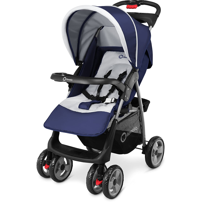 Lionelo Emma Kinder Buggy Kinderwagen Kindersportwagen Babywagen Sport Jogger Blau 0811201602
