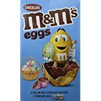 M&M's Extra Large Chocolate Easter Egg, 313 g, (Pack of 4)