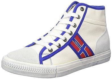 Nebulus York, Damen Hohe Sneaker, Weiß (Weiß), 40 EU (7 UK)