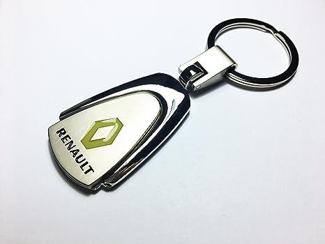 Llavero de metal con logo de Renault: Amazon.es: Coche y moto