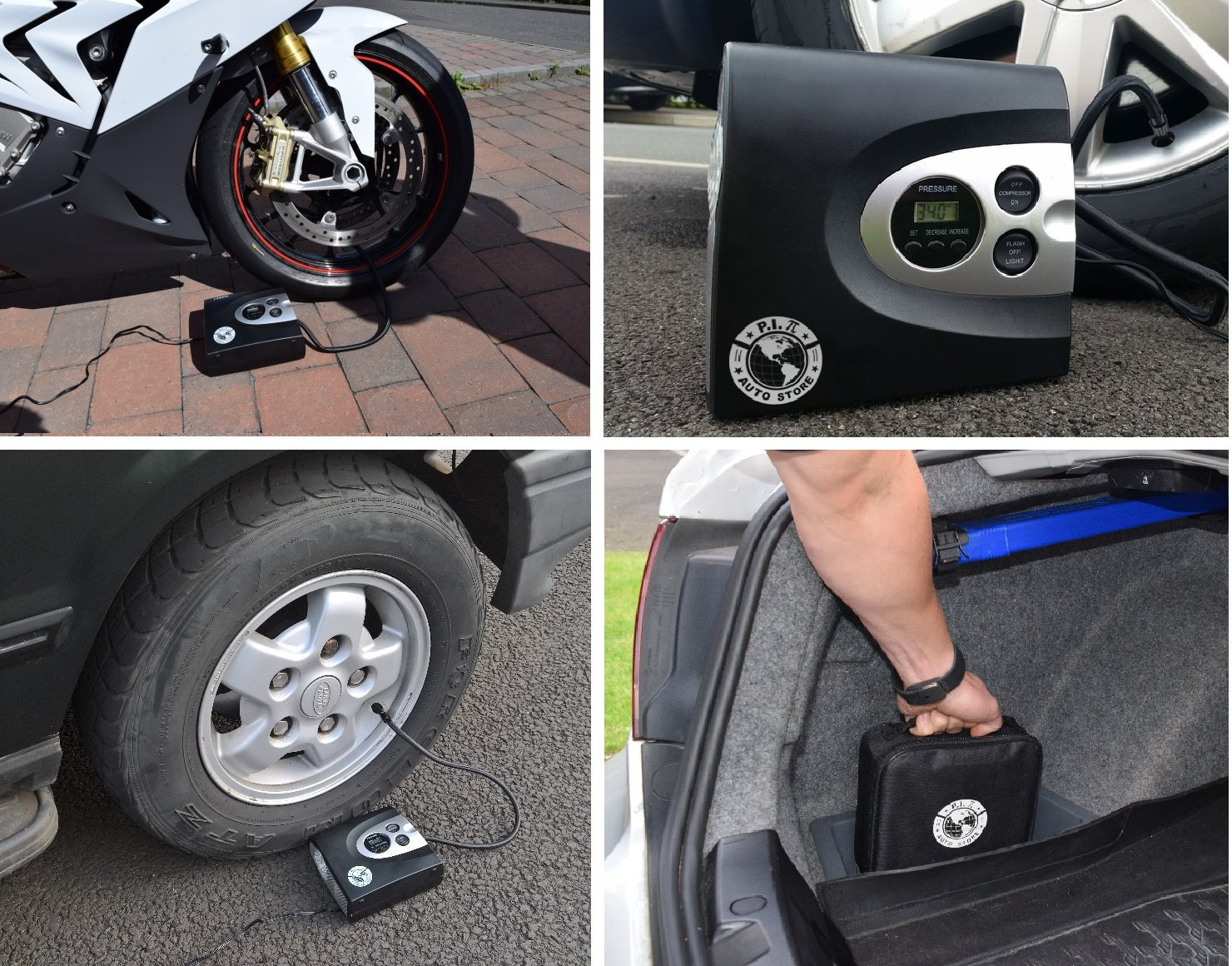 Slime digital tire inflator for Cars