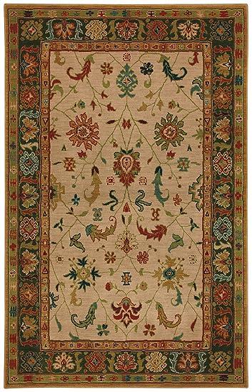 6x8 area rugs orange
