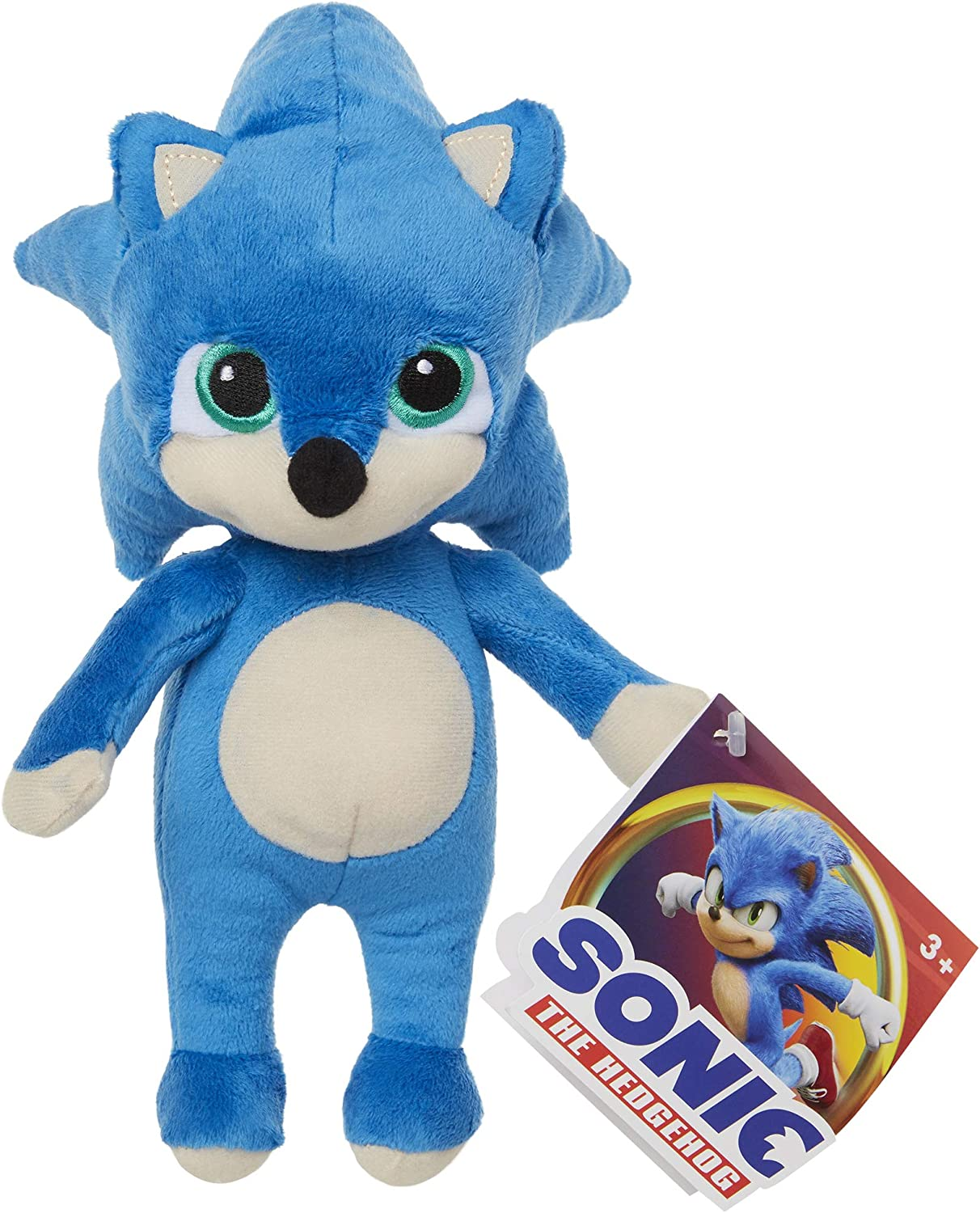 Amazon Com Sonic The Hedgehog 8 5 Inch Baby Sonic Plush Toys Games