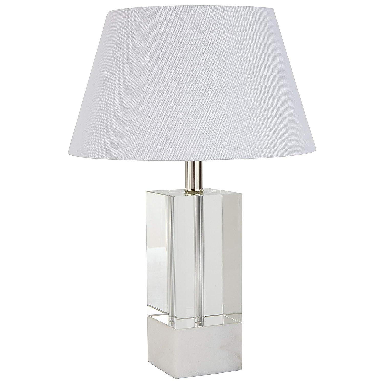 Amazon.com: Stone & Beam Lámpara de mesa de vidrio moderna ...