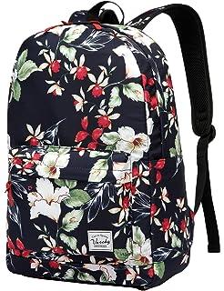 School Bag for Girls, School Backpack Vaschy Lightweight Women s Floral  Travel Backpack Teenage Rucksacks Casual 1e2040403e