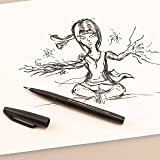 Pentel Arts Sign Pen Touch, Fude Brush